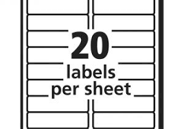 Avery Label 8160 Avery 8160 Address Label Template Address Labels Template 5160 The
