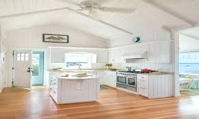 coastal kitchen canisters beach house ideas style kitchens astonishing white cottage cabinets small designs accessories wall decor unique tiny homes chic