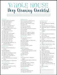 Cleaning Service Checklist Template Awesome Printable House Best App