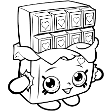 Small Picture Print Cookie Shopkins Season 1 Coloring Pages Colouring Coloring