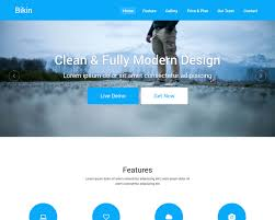 Bikin Free Simple Landing Page Template Bootstraptaste