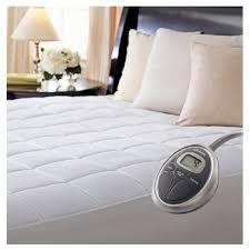 quilted mattress pad. Sunbeam® SlumberRest Premium Quilted Mattress Pad