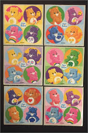 Care Bear Sticker Dots Envelope Seals Birthday Party Favours Reward Charts Parents Merit Awards Teachers Wonder Heart Love Care Bears