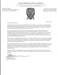 letter for recommendation letter of recommendation justin brown assistant principal
