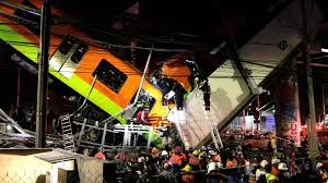 More than a dozen killed as Mexico City metro overpass collapses