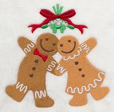 gingerbread man and woman. Brilliant And Meet Me Under The Mistletoe  Gingerbread Man U0026 Woman Inside And