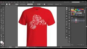 How To Make A Tshirt Design Using Illustrator Vector Tshirt Mockup Tutorial T Shirt Edu