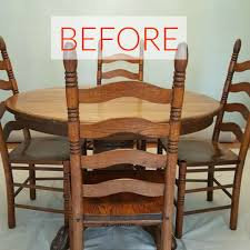 diy furniture refinishing projects. 9 Dining Room Table Makeovers We Can\u0027t Stop Looking At Diy Furniture Refinishing Projects