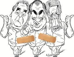 Resultado de imagen para triunvirato cgt, caricatura