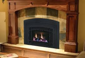 tile around gas fireplace fireplace