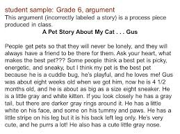 summative assessment for th grade ela unit the road to equality a pet story about my cat gus