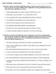 Semicolons And Colons Worksheets Commas Semicolons And Colons Freebie Practice Worksheet By Teacher