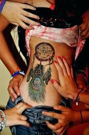 Dream Catcher Tattoo On Side Sexy Dreamcatcher Tattoo Design Design Of TattoosDesign Of Tattoos 53