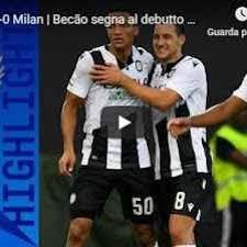 Udinese - Milan 1-0 Guarda Gol e Highlights (Udinese)