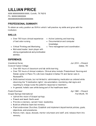 Best Vocational Nurse Resumes Resumehelp