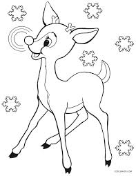 Rudolph Coloring Pages Big Bundle Of Coloring Pages Online Santa