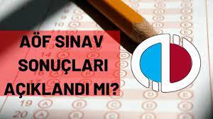 AÖF sınav sonuçları açıklandı mı? AÖF sınav sonuçları ne zaman açıklanacak?  - Haberler