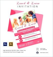 Seminar Invitation Templates Invitation Letter For Lunch Formal To And Learn Template Brrand Co