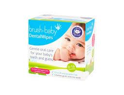 Купить салфетки для <b>полости рта</b> с ксилитом <b>Brush</b>-<b>Baby</b> ...