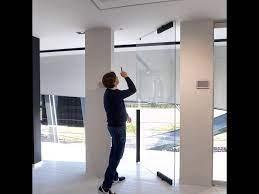 glass pivot door system you