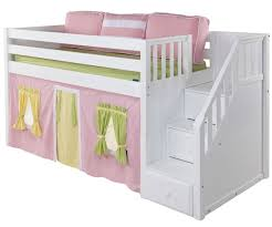kids loft bed with stairs. Modren With Good Looking Kids Bed With Stairs 23 Bunk Steps Only For Cheap Wooden Beds  Built In Drawers Loft L