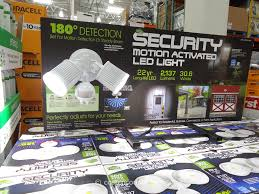 Led Security Light Costco Home Zone Security Motion Activated Led Light