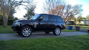 L322 With 285 50 20 Land Rover Lift Kits