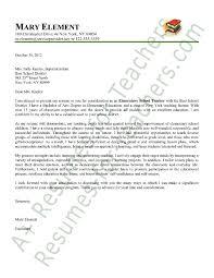 Cover Letter Kindergarten Teacher Experience Resumes