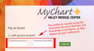 Valley Medical Center Mychart Online Billing Notice