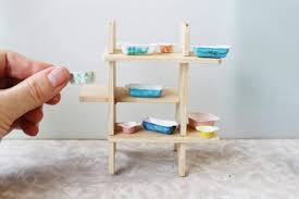 how to build miniature furniture. Dollhouse Furniture Diy. DIY Pyrex Dishes \\u2013 You Will Be Amazed At Her How To Build Miniature N