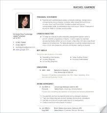 Create Resume Templates Creating Professional Resumes Templates