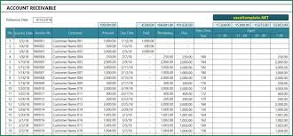 Account Receivable Statement Template Account Receivable Excel Templates Spreadsheets Small Business