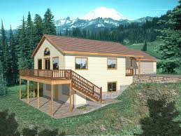 multi level house perfect for a sloping lot