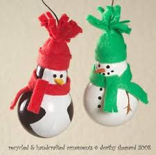 creative homemade christmas decorations. Plain Creative Creative Ideas  DIY Light Bulb Christmas Ornaments 2 In Homemade Decorations R