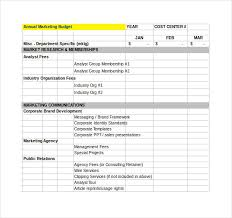 sales department budget template financial budget plan template 7 free word excel pdf