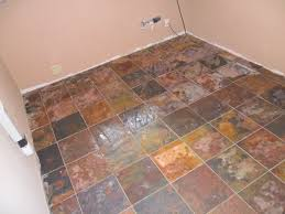 Slate Kitchen Floor Tiles Natural Slate Tile Flooring All About Flooring Designs