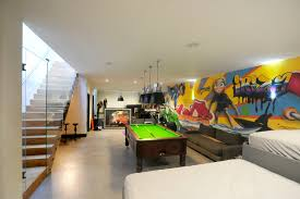 game room lighting ideas. game room garage ideas family contemporary with lighting