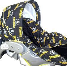 steelers car seat covers baby clothes infant cover or choose your own team suv