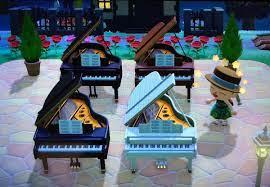 グランド ピアノ あつ 森