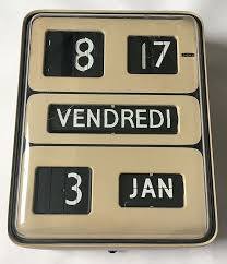 ing my vintage solar udine dator5 wall flip clock in french this is a large wall mounted clock it measures 13 5 inches high x 11 inches wide x 4 5