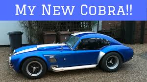 ac cobra. collecting my ac cobra!! with a custom hardtop roof!! | vlog 06 ac cobra