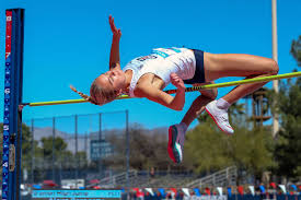 But the next year she admits she was flogged in the sprints and was instead wisely steered towards the high jump. South Surrey High Jumper Sets Personal Best Mark At Ncaa Meet Peace Arch News
