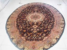 another one of the most unusual persian carpets that i have offered is this large oval