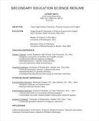 Teacher Resume Sample A High School Template Cv Updrill Co