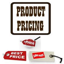 Product And Price Pricing Your Product Or Service