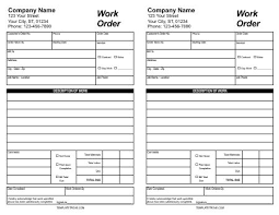Printable Work Order Forms Printable Work Order Form Under Fontanacountryinn Com
