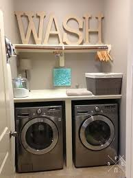 10 Clever Storage Ideas For Your Tiny Laundry Room  HGTVu0027s Utility Room Designs
