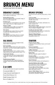 Cafe Menu Template Breakfast Menu Template Musthavemenus Intended For Cafe