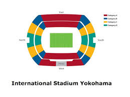 International Stadium Yokohama Information Seating Plan