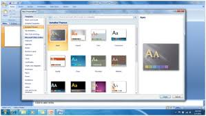 Microsoft Office Ppt Theme Powerpoint 2007